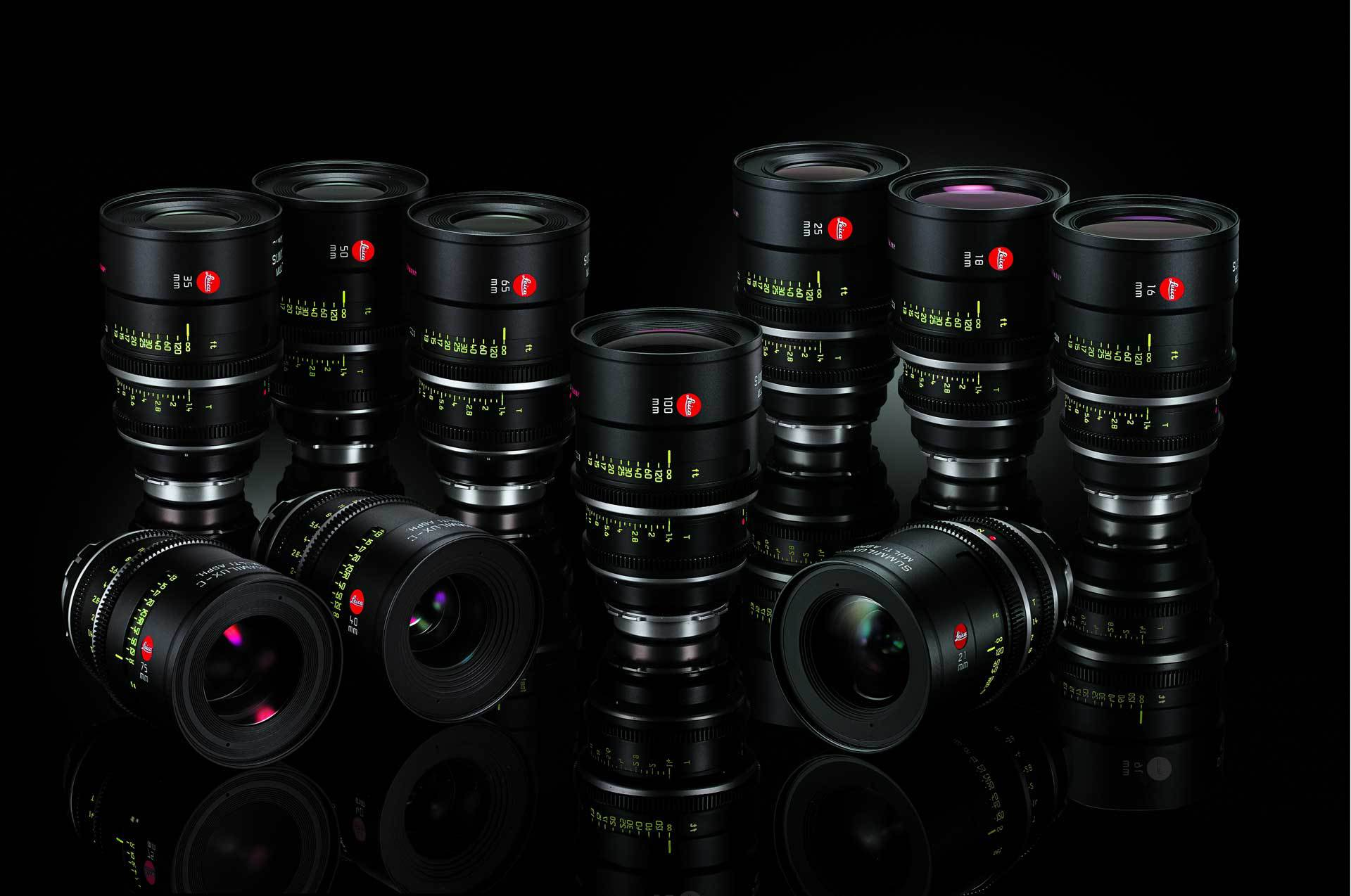 Leitz Summilux-C T1.4 lens series for Cinefade