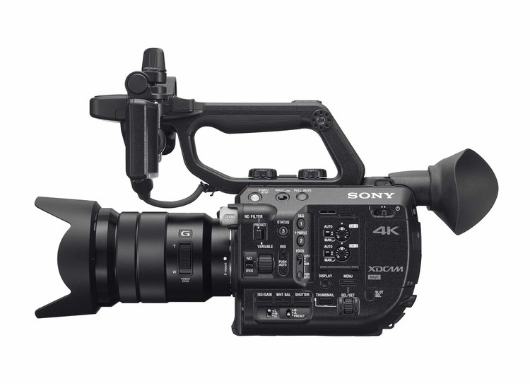 Sony FS5 variable electronic ND filter