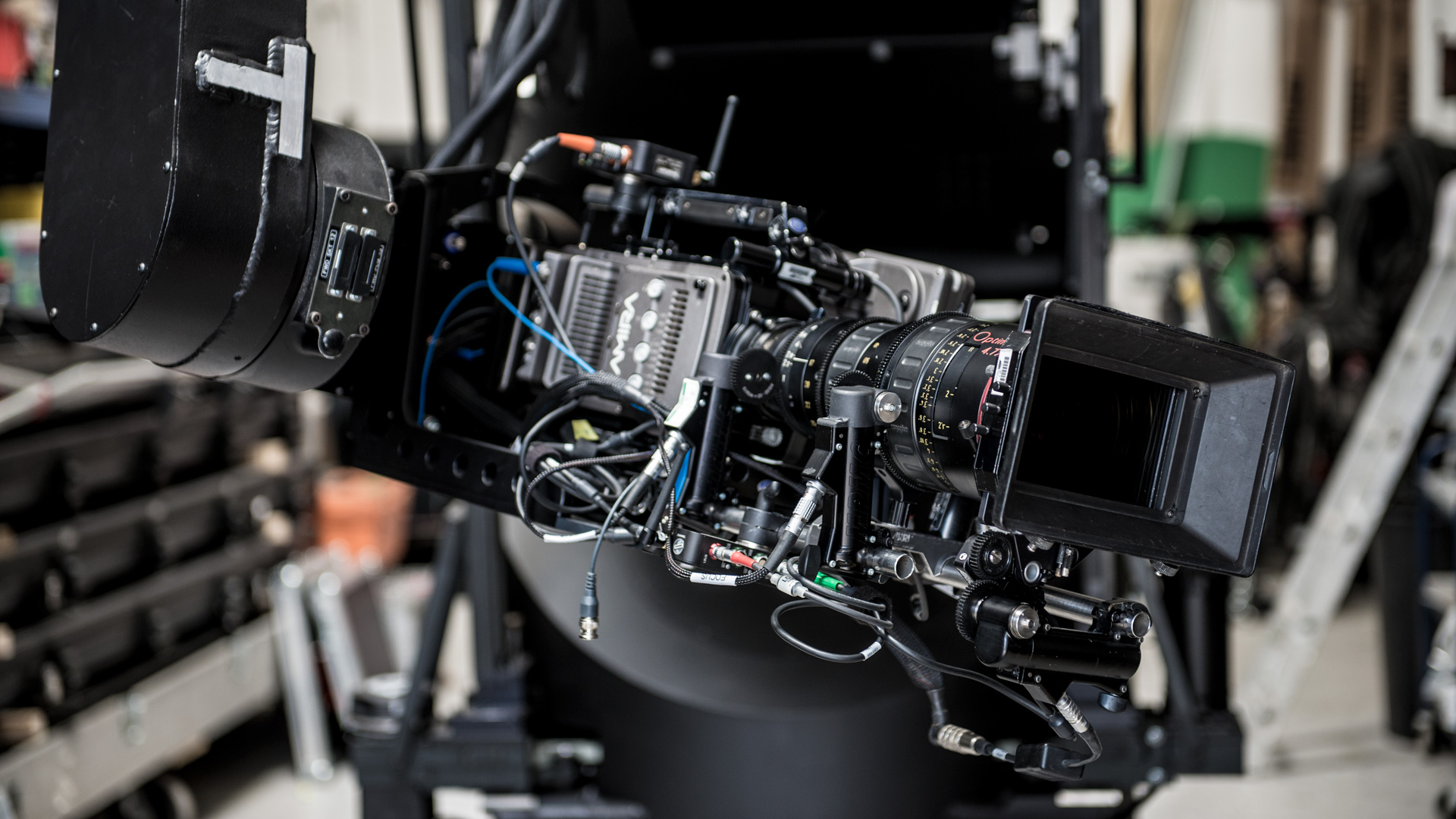 Cinefade system on Milo Motion Control rig