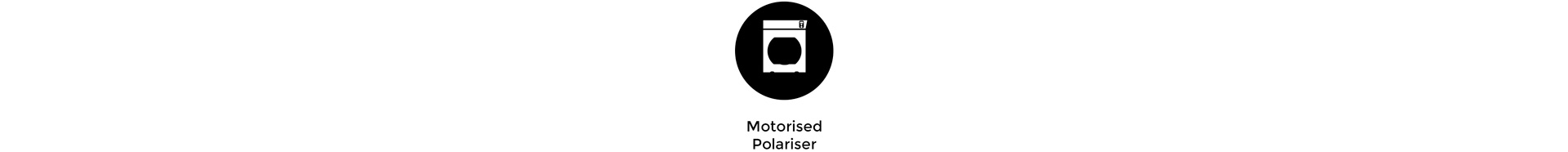 Icon of Motorised Polariser for RotaPola mode with the Cinefade VariND
