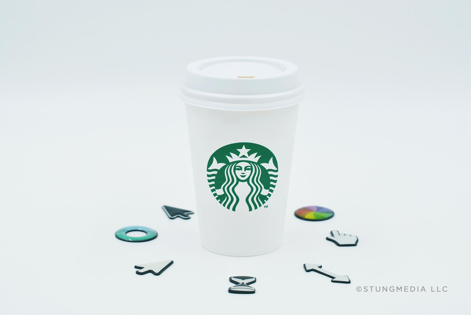 Designer Coffee  • Nikon D7100 • LED light box