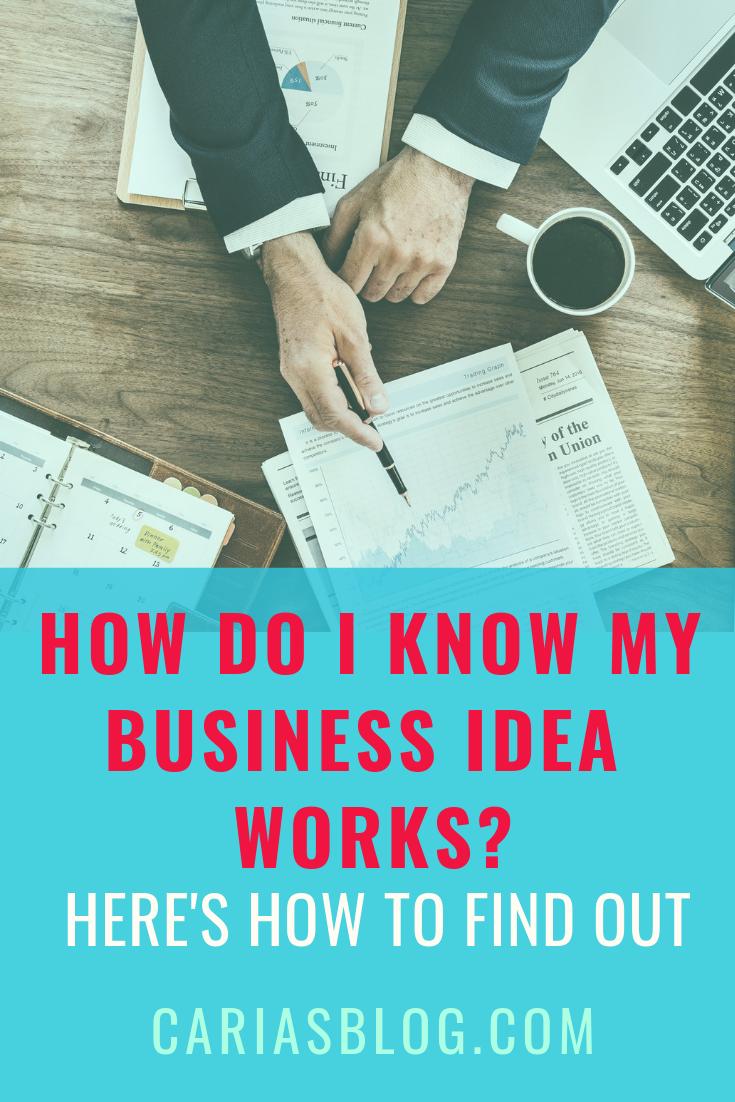 will my business idea work