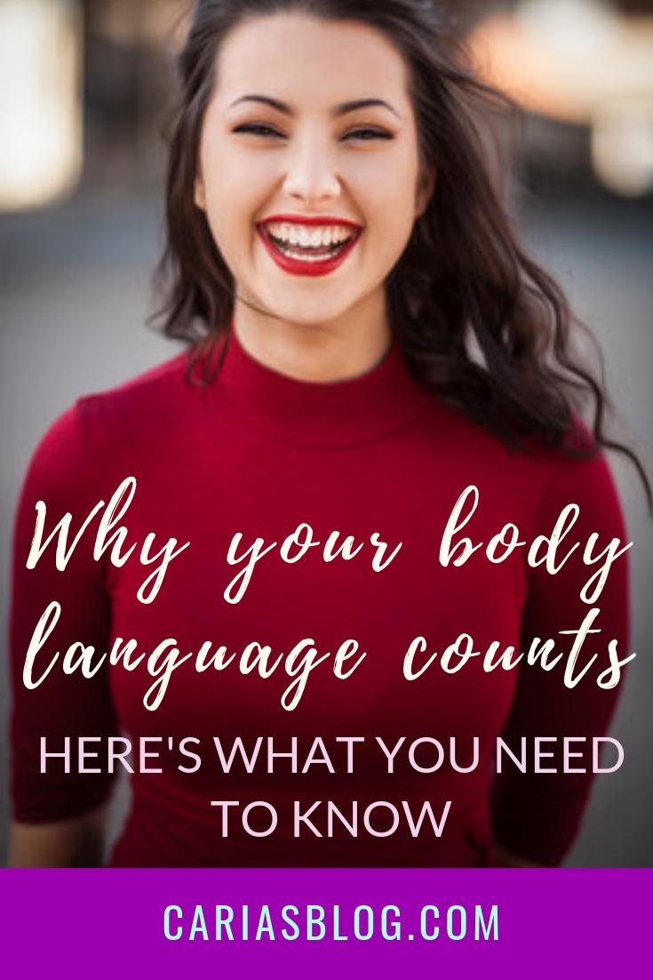 TIP# 4 Project good body language -