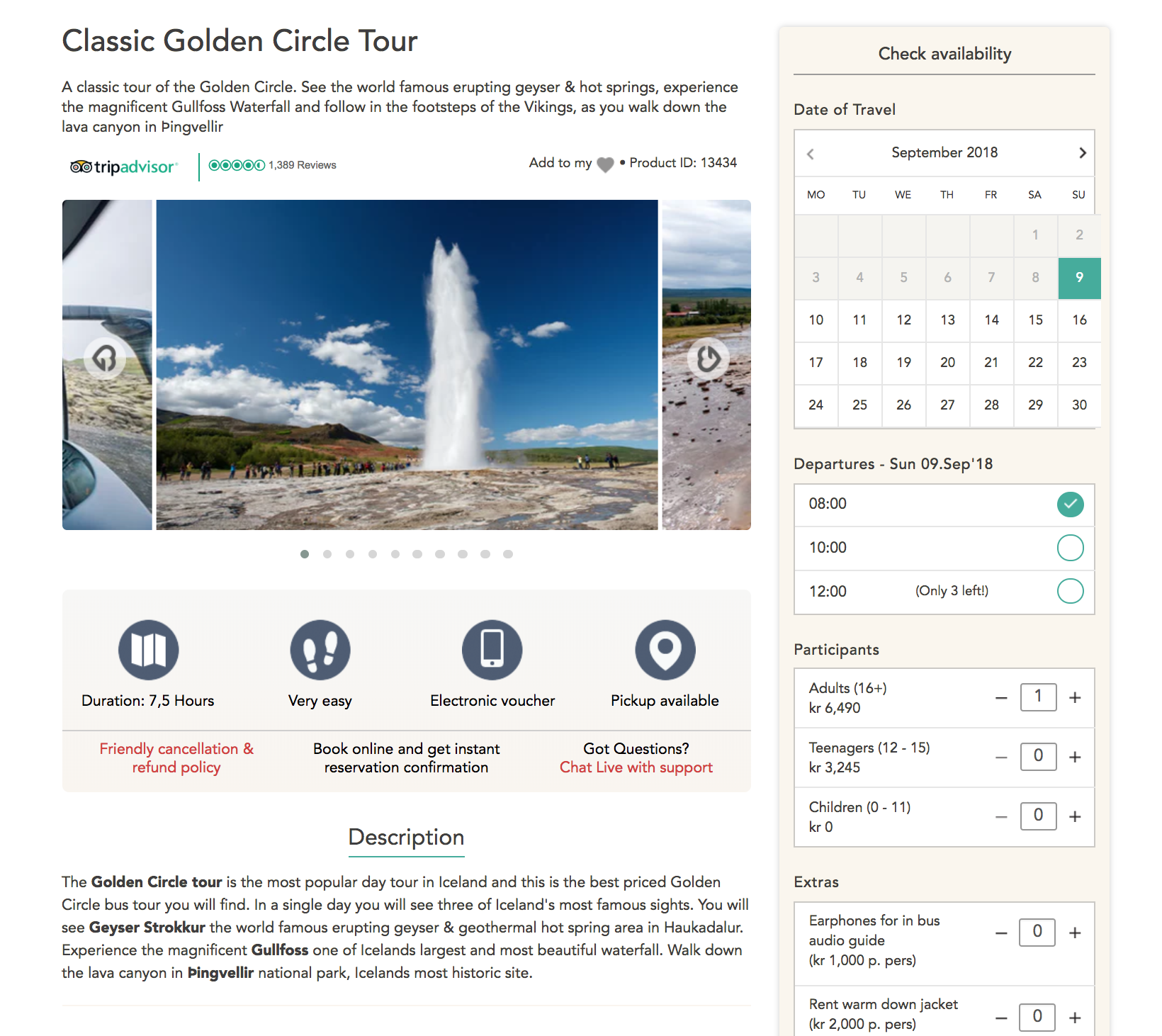 Travel CMS & Sales solution - Highly customizable ecommerce website and CMS created for the travel industry. Accept bookings with live inventory and take payments online.
