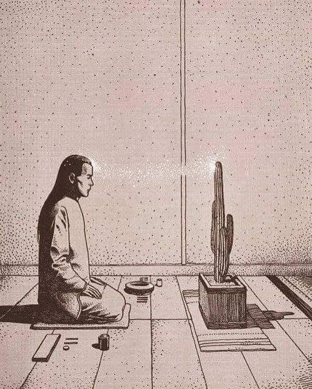 Redirected to the moment. Parapsychologie by Moebius