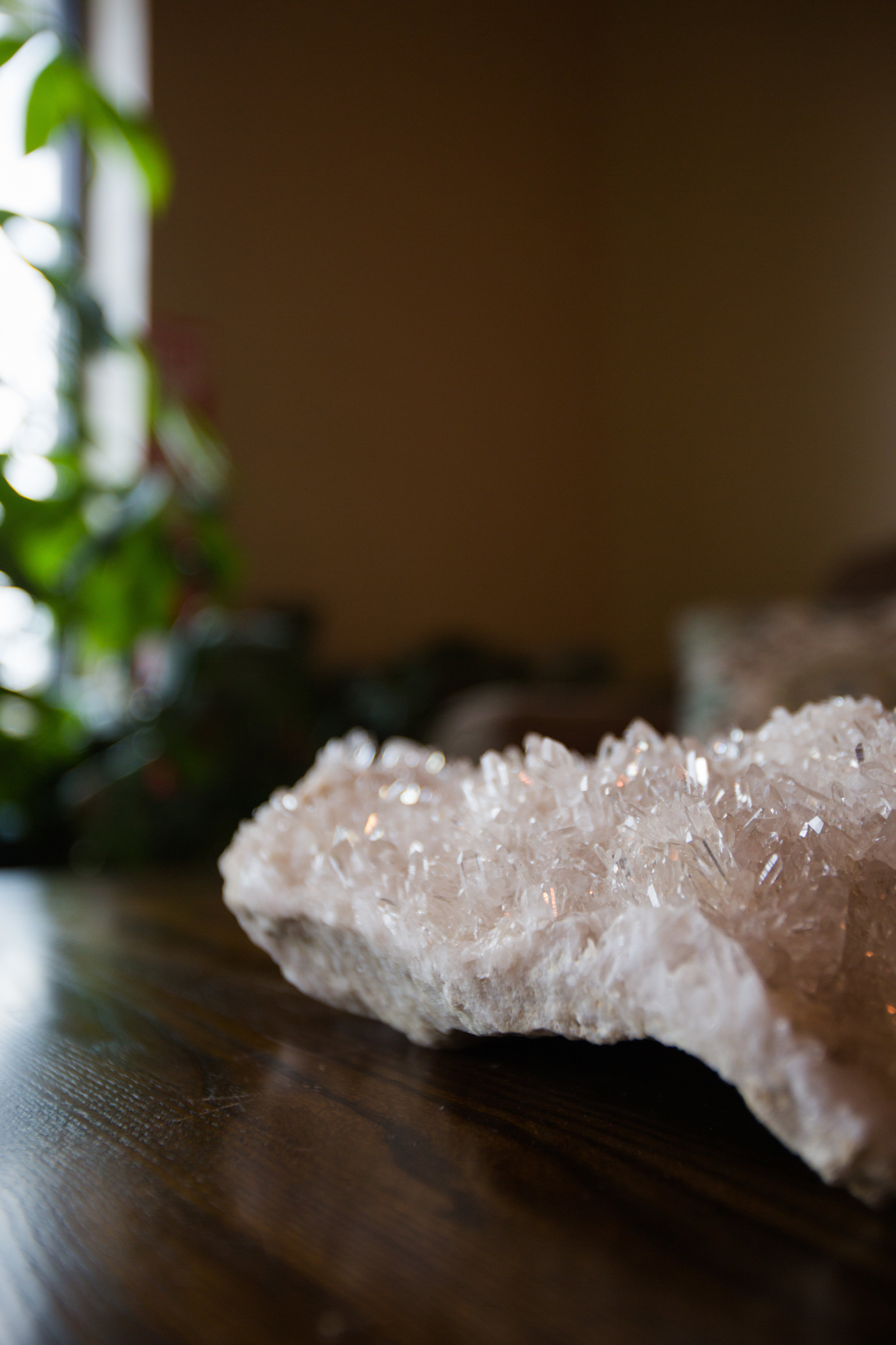 Crystal Cluster in the Lobby