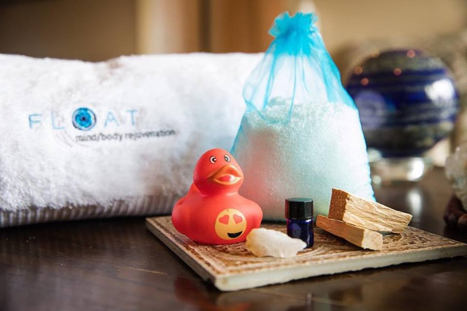 Towel, Salt, Essential Oil, Incense, and Rubber Duck Home Care Package