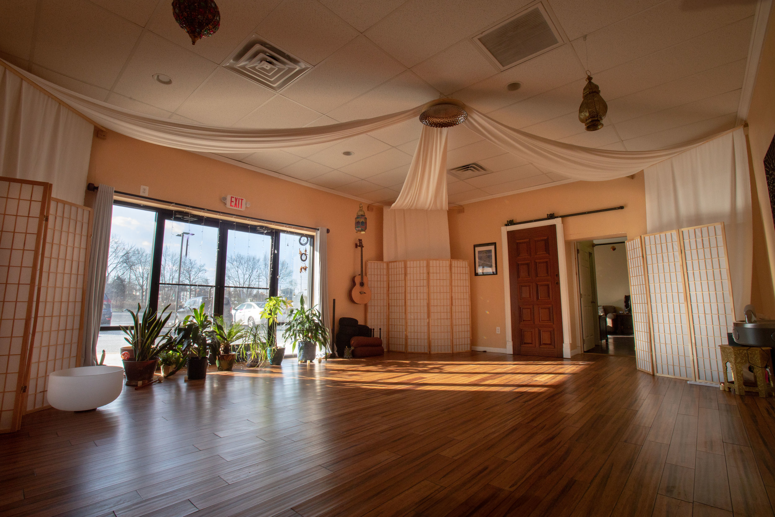 The Decor and Natural Lit Open Air in the Great Room at Float SNJ