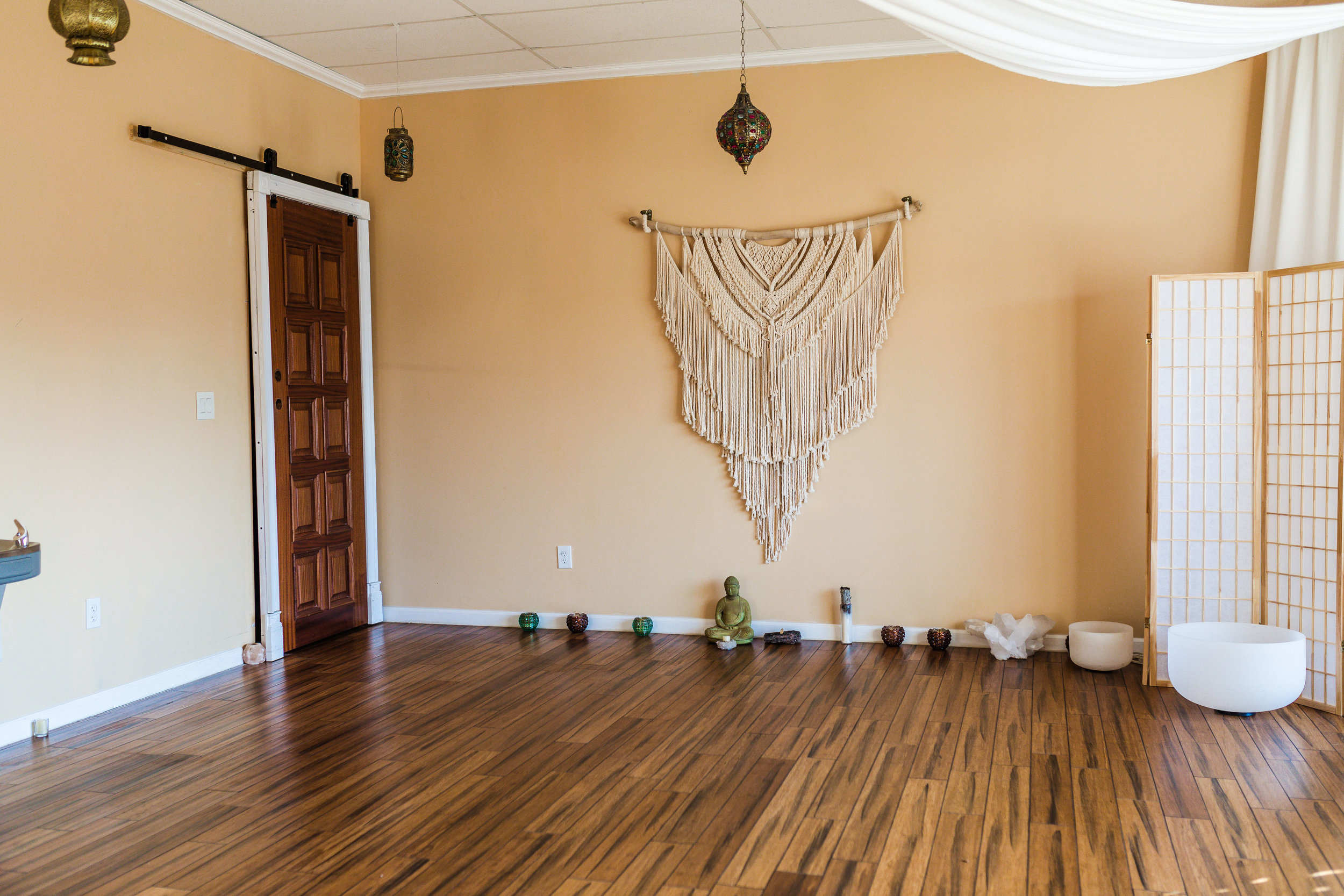 The Wide Open Great Room at Float SNJ, for Yoga, Meditation, and More