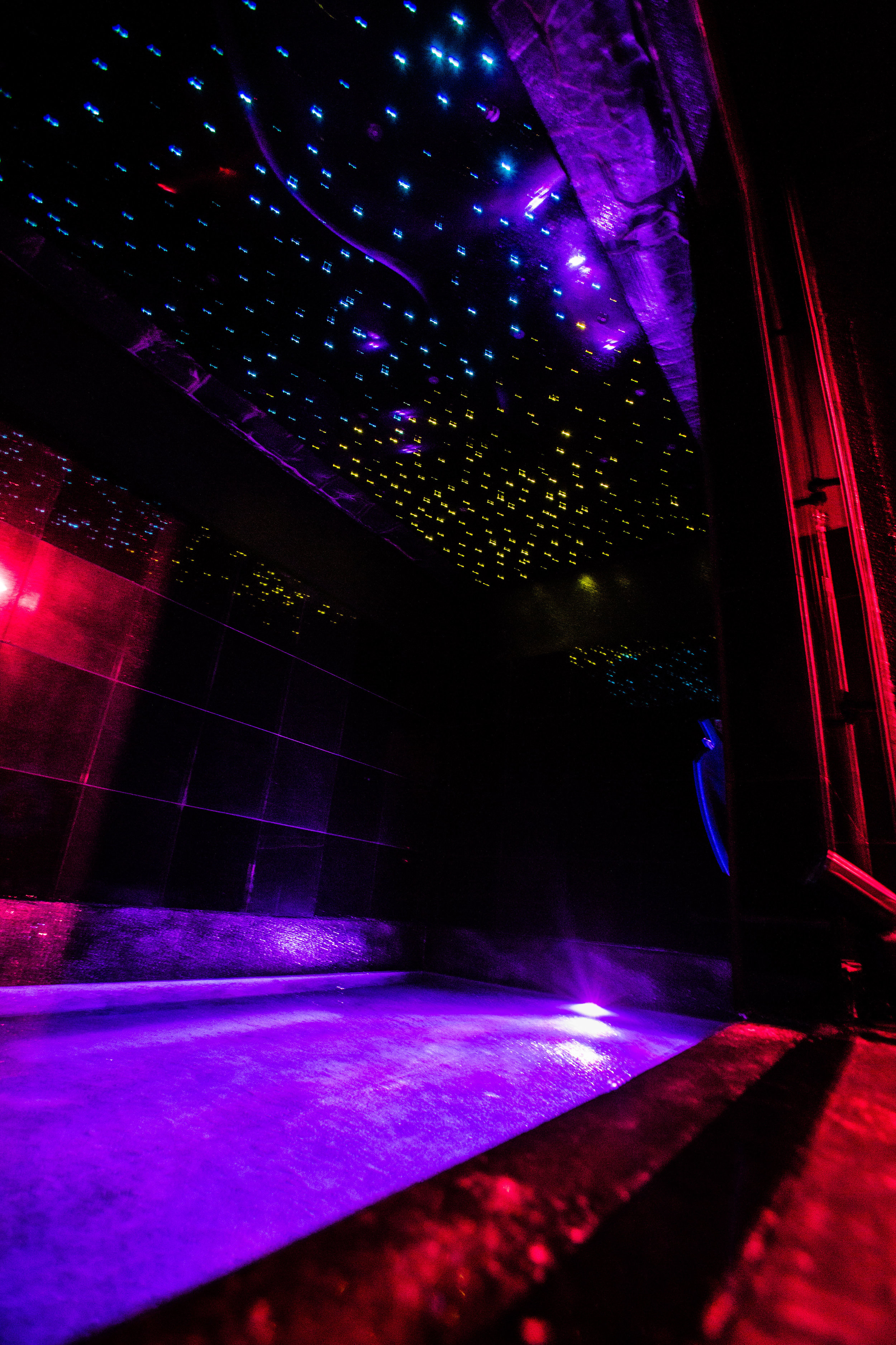 Galaxy Float Tank Interior