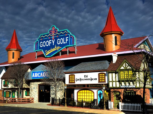 "Goofy Golf - 3020 Milan Rd Sandusky, OH 44870Hours: Phone: Click Here for MoreBig buys 18 or 36 Holes of Miniature Golf and get one free, or take $1.00 off the ""Do-All-Deal."