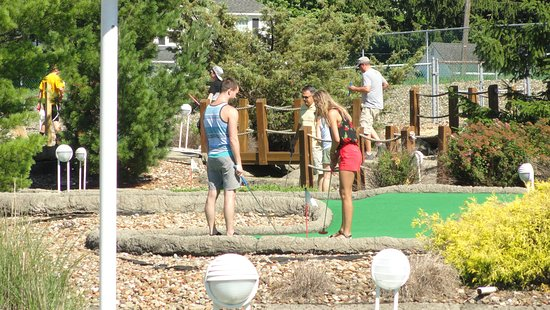 "Sportsville - 37500 Center Ridge Rd, North Ridgeville, OH 44039Hours: 11 AM - 9 PMPhone: (440) 327-3040Click Here for MoreBig buys 1 round of Miniature Golf and their ""little"" receives 1 round of Miniature Golf for free."