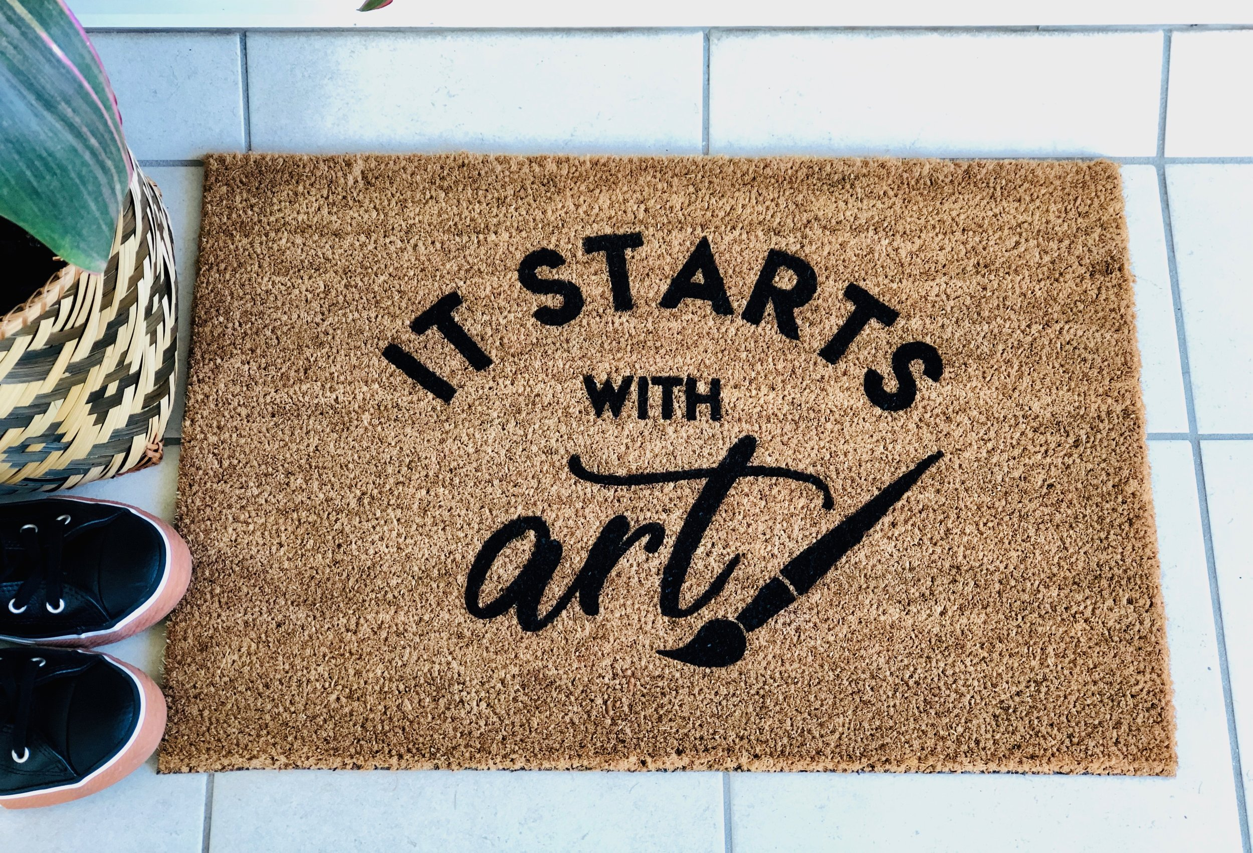 Art Studio Custom Doormat.jpg