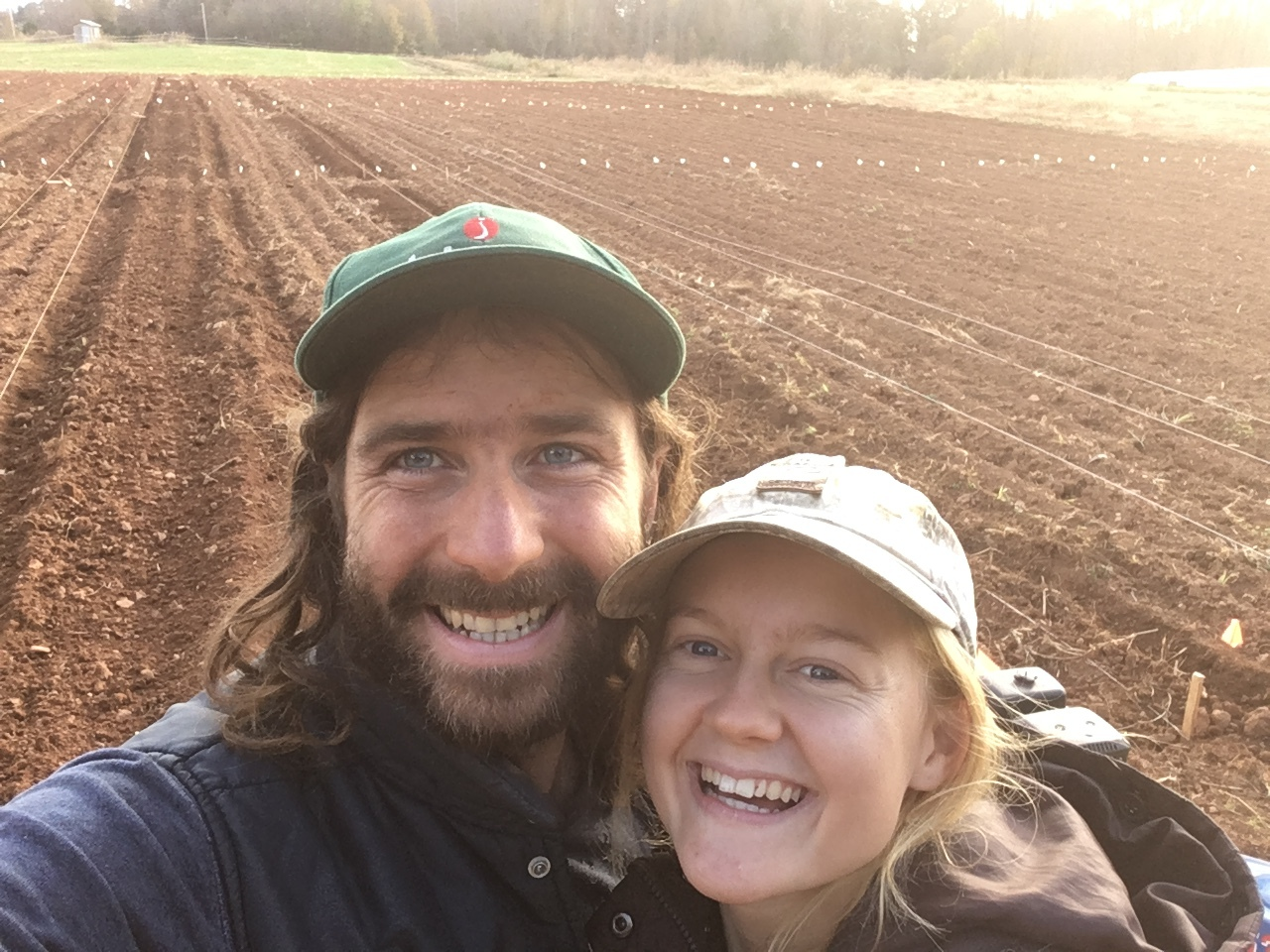 Meet Your Farmers - Two people with a passion for plants, food, & the environment. Cultivating plants and community.