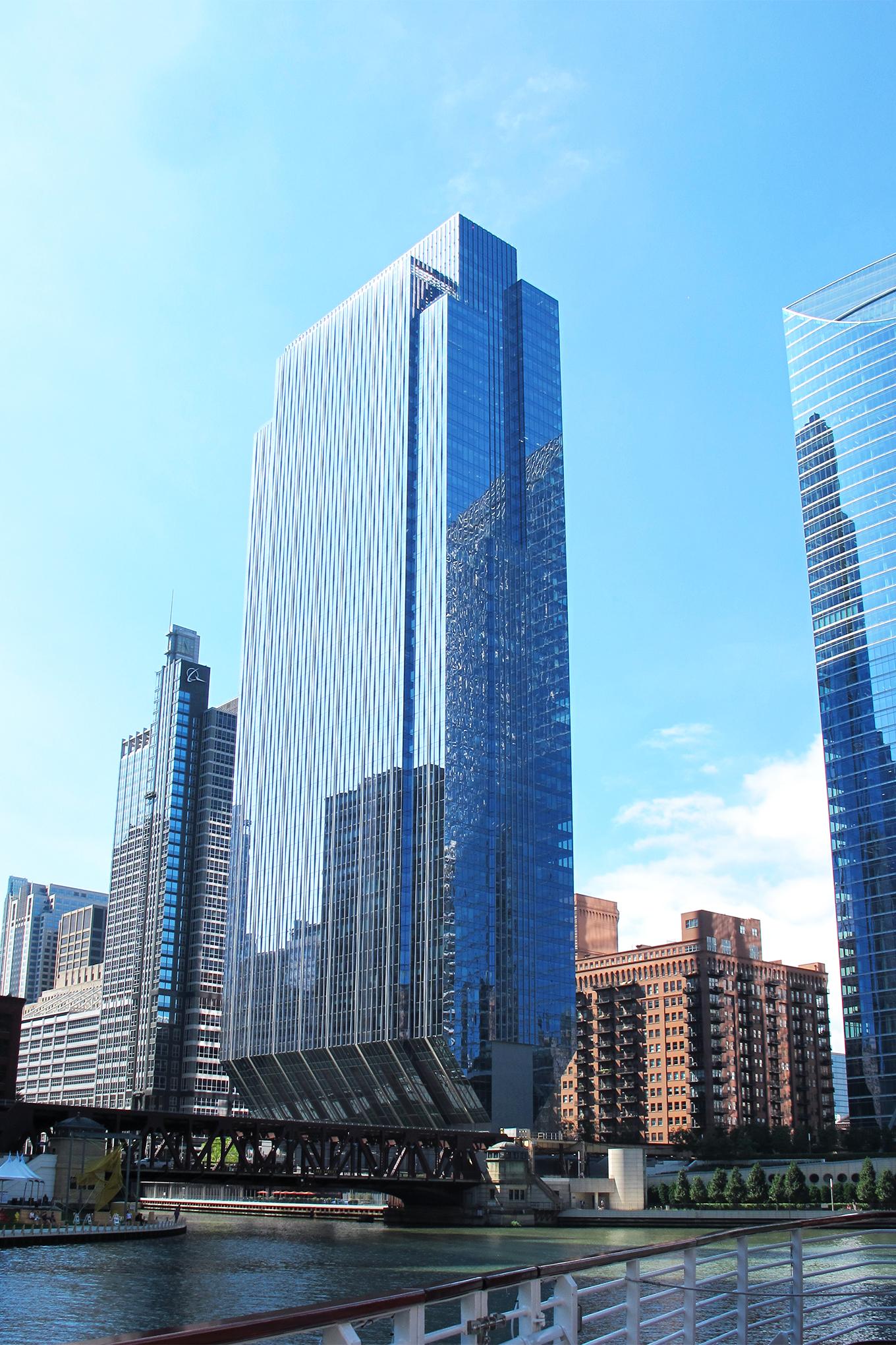 150 North Riverside, 2017, Architect: Goettsch Partners
