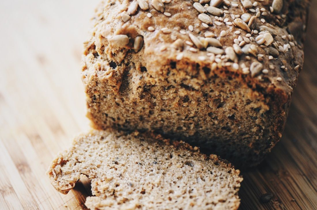 Magic Tahini Seed Bread (Gluten Free, Flour Free) - An amazing gluten-free, flourless, dairy-free tahini seed bread. It's magic! | moonandspoonandyum.com #tahini #bread #seed #flourless #dairyfree #glutenfree #magic