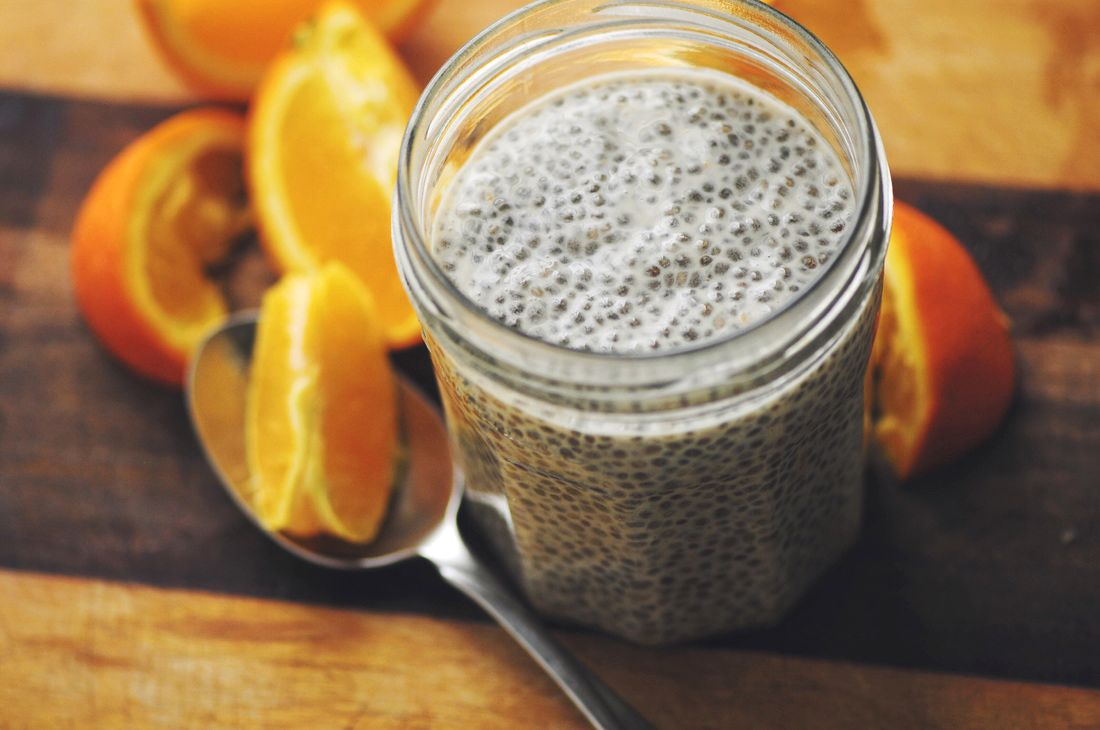 Creamy, Dreamy, Orange Delight Chia Seed Pudding (Gluten Free, Vegan) - Gluten Free, Vegan and full of protein, vitamin c and fiber. This delicious chia seed pudding tastes just like a creamsicle... the healthy version! | www.moonandspoonandyum.com #chia #chiaseeds #pudding #chiaseedpudding #glutenfree #vegan #Breakfast #brunch #healthy #easy #orange #creamsicle #orangesicle #dreamsicle #dessert