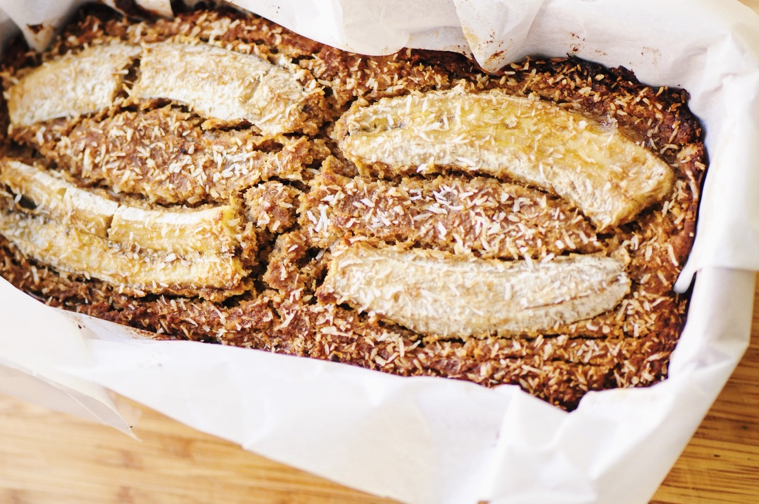 This Gluten-Free Coconut Banana Bread makes for one luscious and hearty loaf perfect for breakfast, a snack or a healthy treat! #glutenfreebread #coconutbananabread #bananabread #coconut #healthy #highprotein #baking