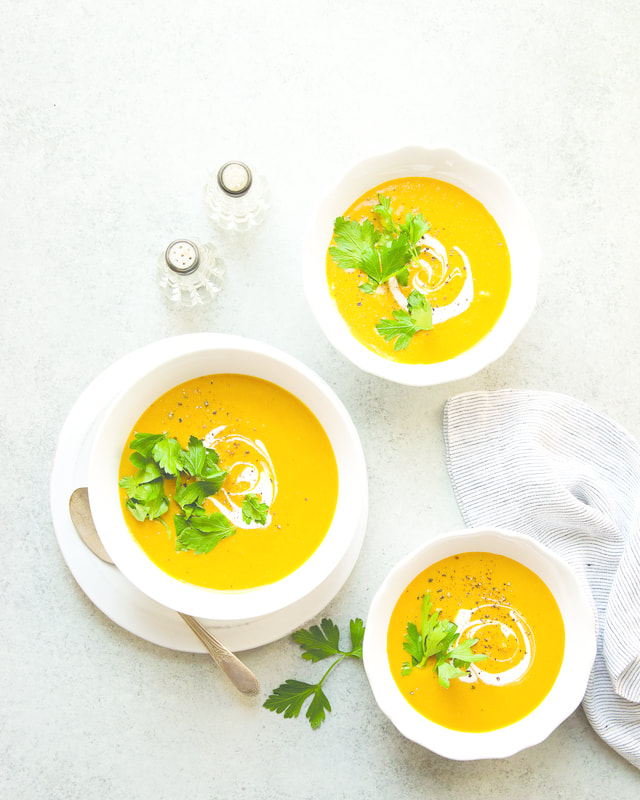 Roasted Carrot Bisque