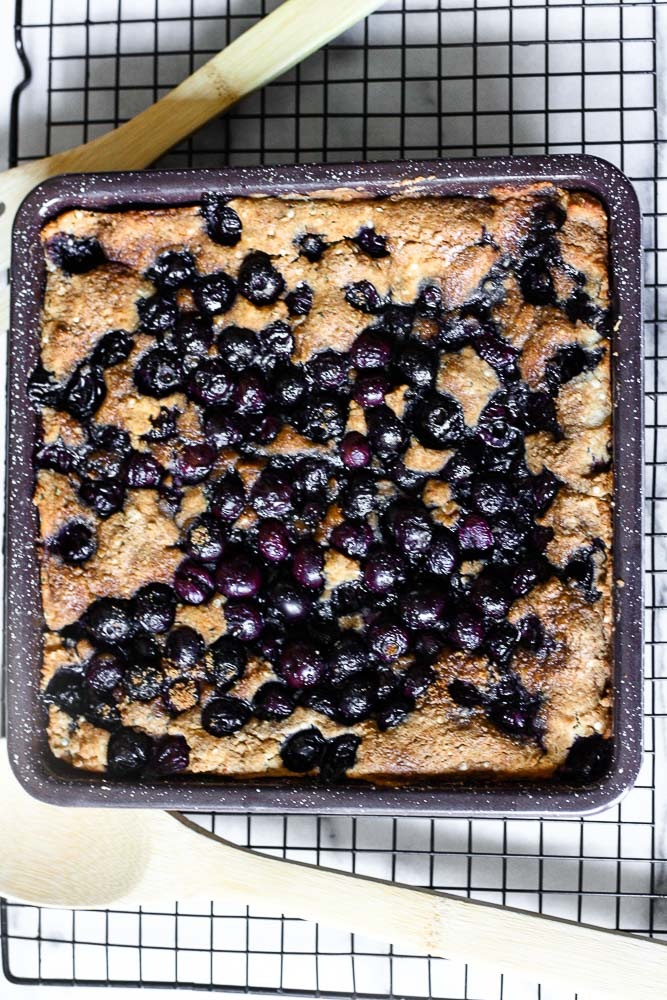 Paleo Blueberry Cobbler   by Kitchen of Youth