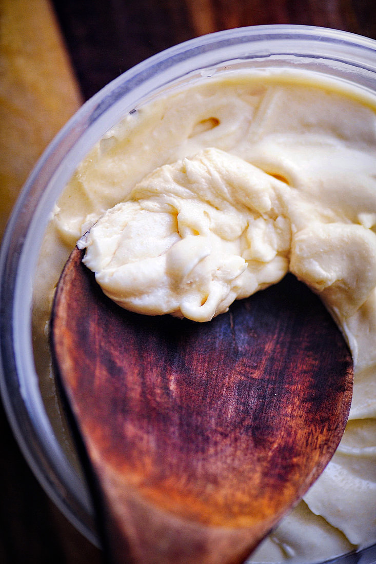 Maple-Coconut-Buttercream Frosting   by MOON and spoon and yum