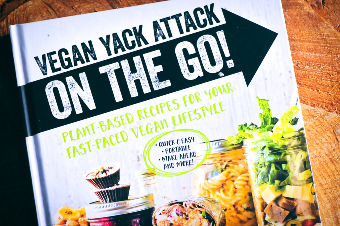 Cookbook Review Series 03: Vegan Yack Attack On the Go! by Jackie Sobon + Lentil Balls with Zesty Rice + A Giveaway #veganyackattack #cookbookreview #lentilballs