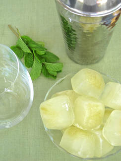 Hatch Chile Ice Cubes by Tasting Page