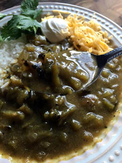 Vegetarian Hatch Green Chili by Three Olives Branch