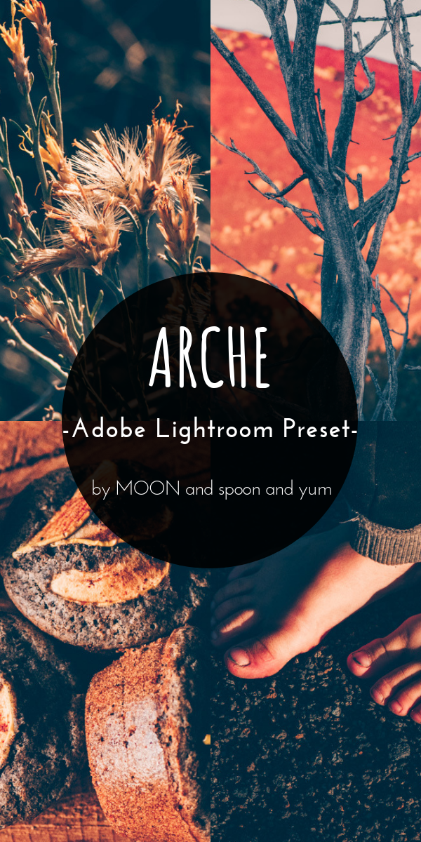 This 'Arche' Adobe Lightroom Desktop Preset adds a magical glow to any image you apply it to. This fun and versatile preset is inspired by some of my favorite films and VSCO filters. It works well with nature, portrait, wedding and food photos alike. I would describe this beautiful Lightroom preset as moody, mystical, magical, earthy, rustic and vintage. It's one of my favorites and I so hope you enjoy it, too. #lightroompreset #VSCOfilter #filmpreset #magicpreset #vintagepreset #arche