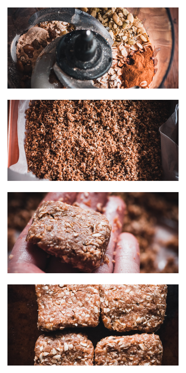 These gluten-free and vegan No Bake Super Seed Cinnamon Maca Energy Squares are filled with energy boosting and hormone balancing properties; as well as being high in protein, iron, calcium, B vitamins, selenium, folate, fiber, omega-3's and vitamin E. They make for one flavorful and nourishing healthy treat that is easy to make, too! #nobakebars #macabars #energybars #veganbars #seedbars #glutenfreebars #hormonebalancing #rawbars
