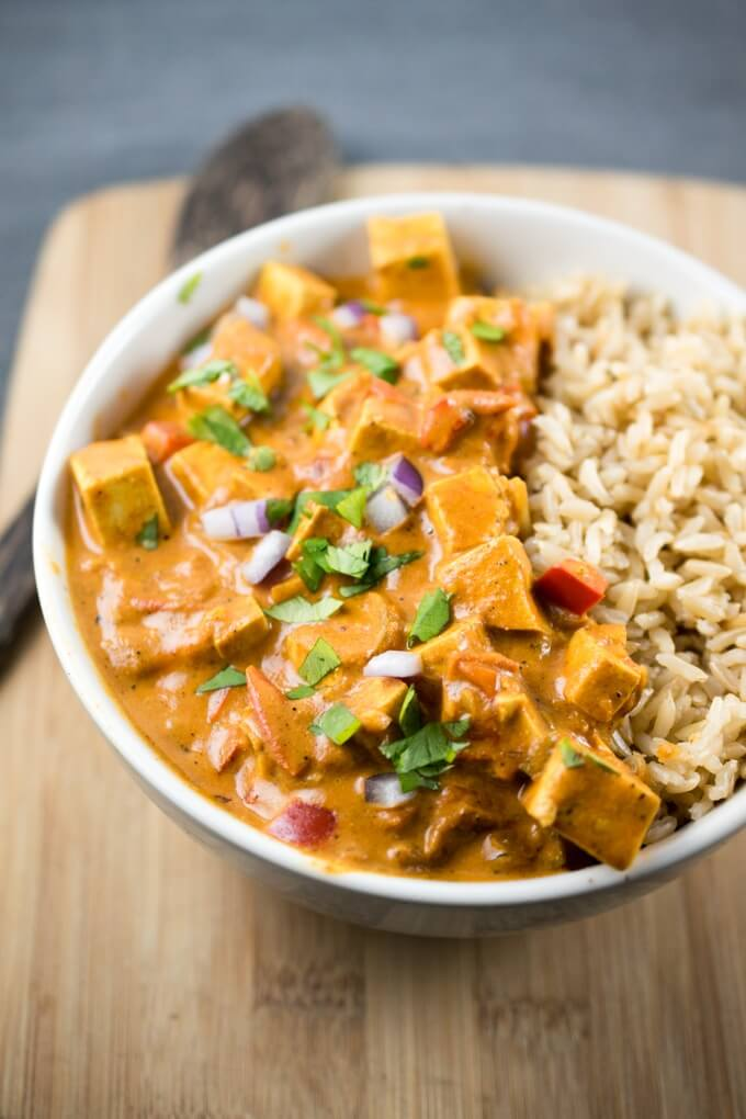 Tofu Tikka Masala by Yup It's Vegan! -