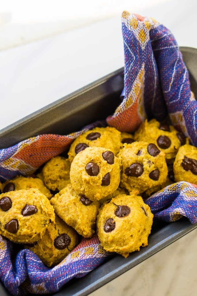 Pumpkin Chocolate Chip Cookies by My Tiny Laguna Kitchen -
