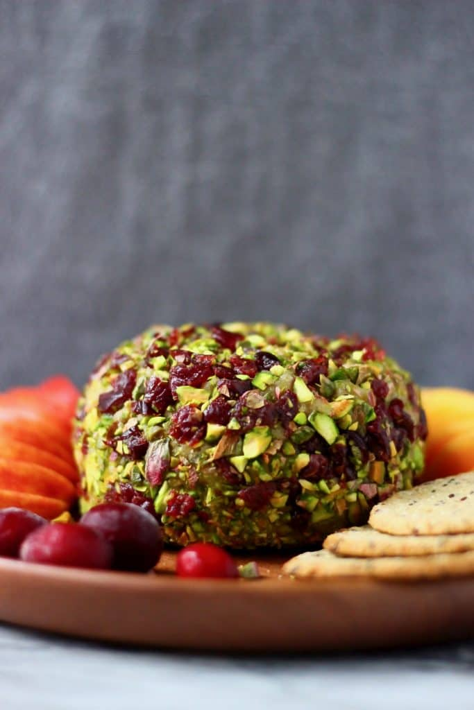 Vegan Cashew Cheese Ball by Rhian's Recipes -