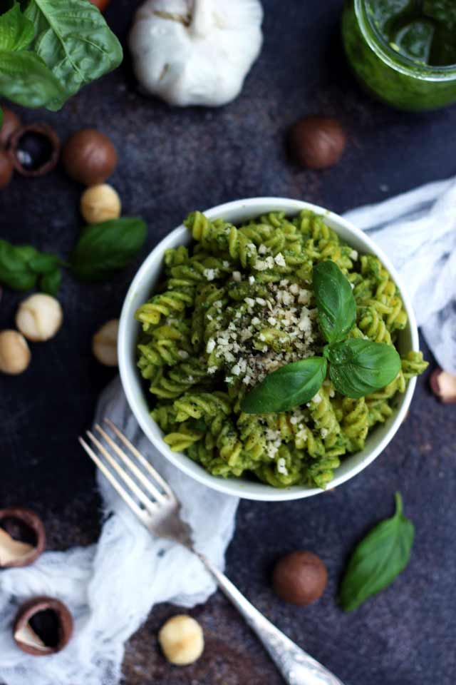 The Best Vegan Pesto by Happy Kitchen.Rocks -