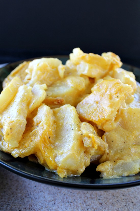 Cheesy Scalloped Potatoes (Vegan) by Great Grub, Delicious Treats -