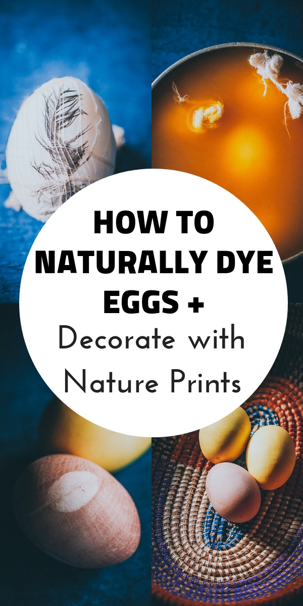 How to Naturally Dye Easter Eggs with Superfood Powders + Nature Prints for decorating! Super fun and easy naturally dyed easter eggs are the perfect kids craft for spring or any nature loving adult! #naturaldyes #naturaleggs #easter #eastereggs #naturallydyedeggs #botanicalprints #naturecrafts #kidcrafts #turmericdye #beetdye