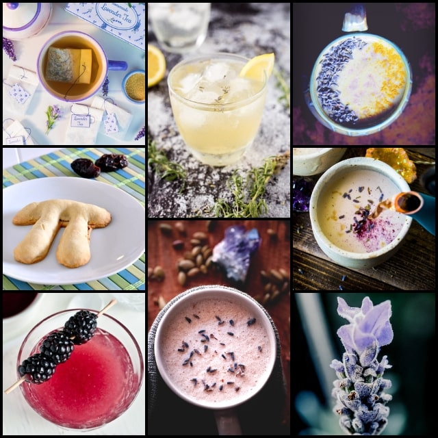 16 Vegan and Gluten-Free Lavender Recipes, plus all about culinary lavender — where to buy it, how to cook with it, health benefits, what to pair lavender with and MORE! Find everything from lavender cookies to lavender lemonade in this fun and healthy culinary lavender recipe round-up! #lavenderrecipes #culinarylavender #cookingwithlavender #lavenderbenefits #lavenderuses #glutenfreelavenderrecipes #veganlavenderrecipes #lavenderlemonade #lavendercookies #moonmilk