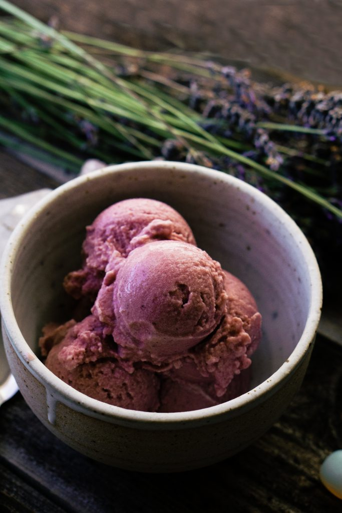 Coconut Milk Kefir Cherry Ice Cream by My Tiny Laguna Kitchen -