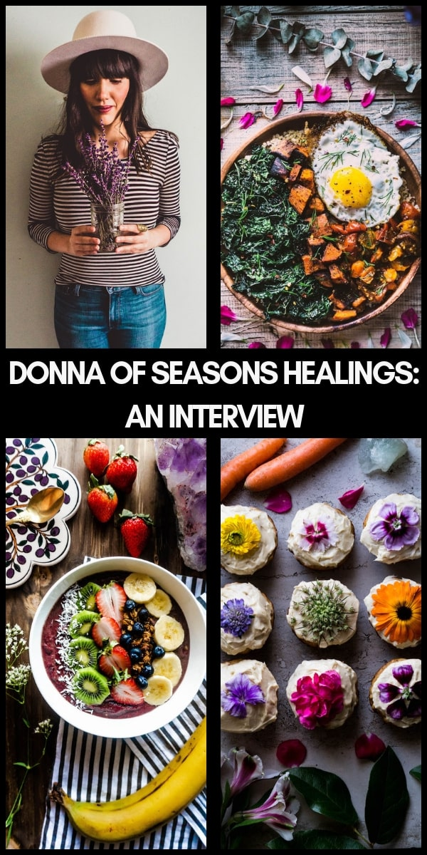 Food Talk Series 05: An Interview with Donna Outtrim of the beautiful food blog Seasons Healings! #seasonshealings #donnaouttrim #foodblogger #interview