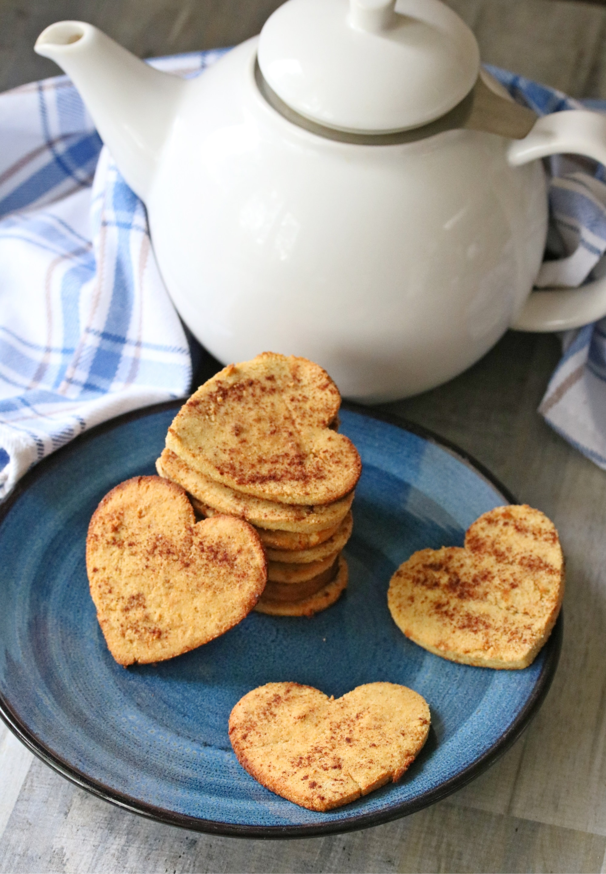 COCONUT FLOUR CINNAMON SUGAR COOKIES by Fit as a Mama Bear - This beautiful coconut flour cookie dough is sturdy enough to roll out and cut out with your favorite cookie cutters!