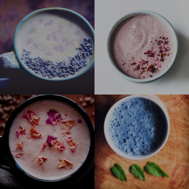 What is Moon Milk? What are the health benefits of consuming Moon Milk? What ingredients are used to make Moon Milk? How to make your own custom Moon Milk + 8 Vegan Moon Milk recipes are to be found in this Ultimate Guide to Moon Milk, with its roots in Ayurveda! #moonmilk #moonmilks #moonmilkrecipe #whatismoonmilk #ayurvedicrecipes