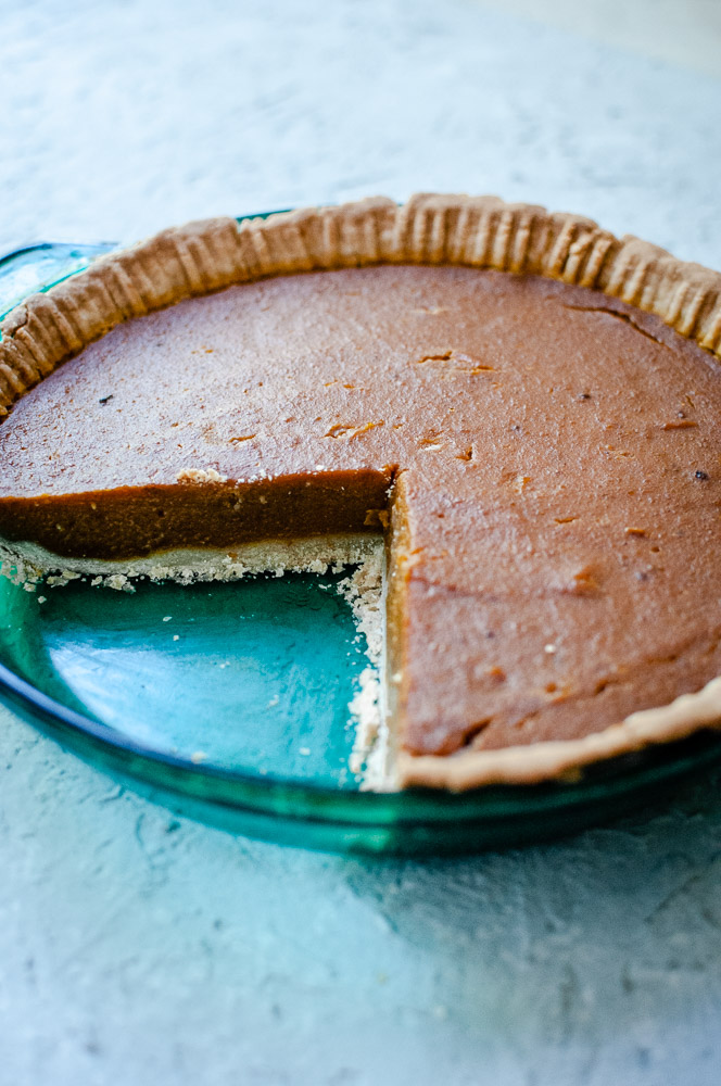 The Best Gluten Free Vegan Pumpkin Pie -  This gluten-free, vegan, dairy-free pumpkin pie recipe is easy, healthy and positively SCRUMPTIOUS! Coconut milk adds extra creaminess in this perfect autumn pumpkin pie recipe. As shown with my favorite    sorghum flour pie crust!    #veganpumpkinpie #glutenfreepumpkinpie #glutenfreeveganpumpkinpie #veganglutenfreepumpkinpie #coconutmilkpumpkinpie #dairyfreepumpkinpie #eggfreepumpkinpie