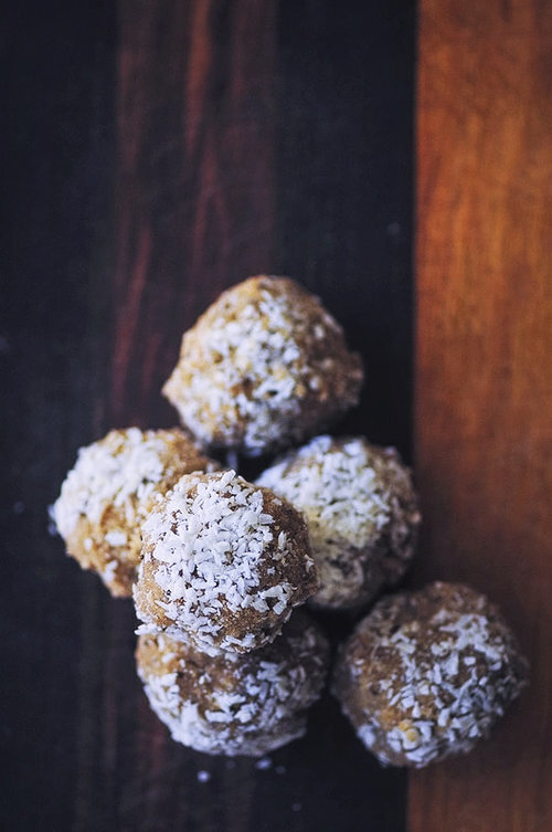 Healthy Vegan Coconut Bliss Balls (Nut-Free, Keto) by MOON and spoon and yum -