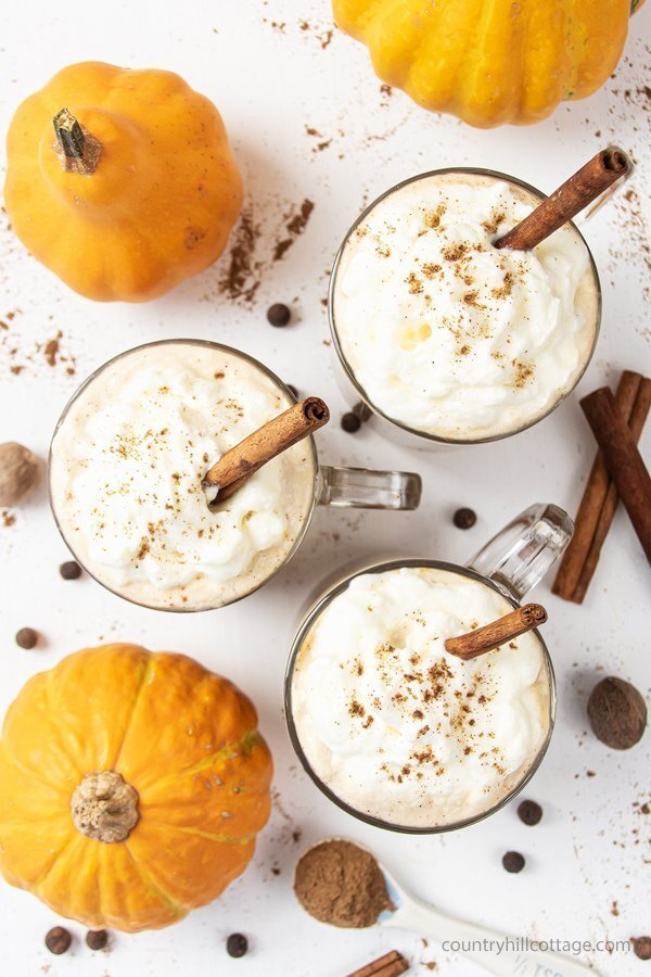 Vegan Keto Pumpkin Spice Latte by Country Hill Cottage -