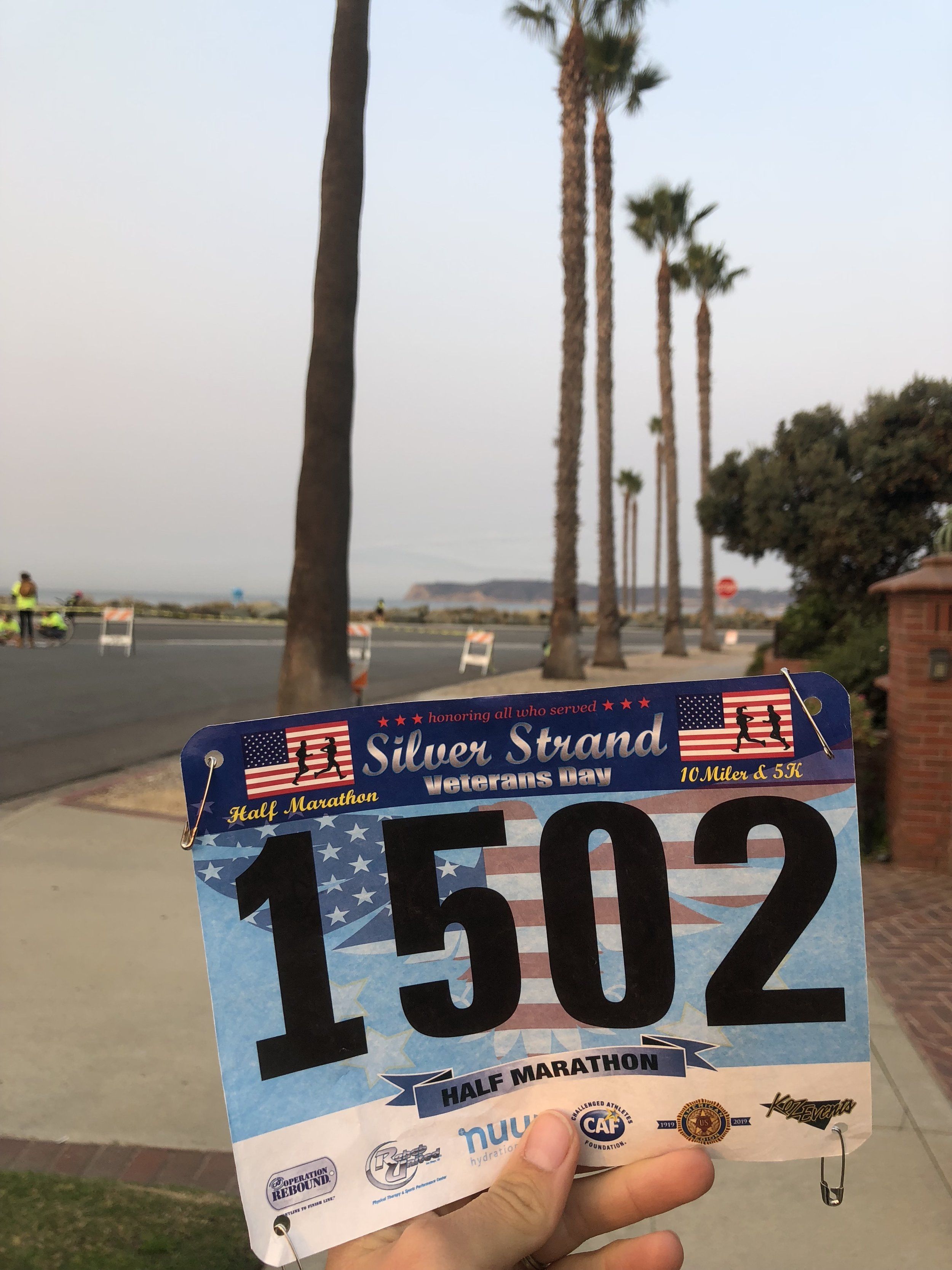 mile 6 taken by my hubby!