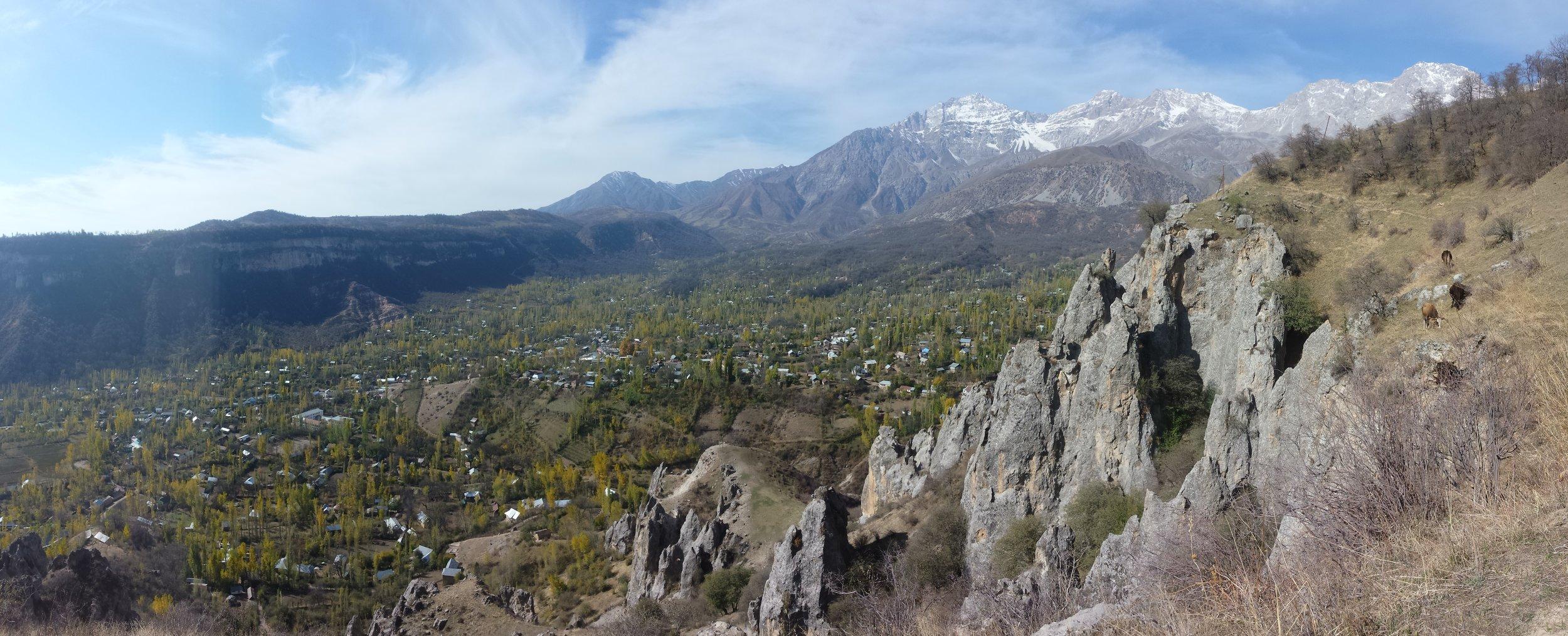 Big views over Arslanbob.