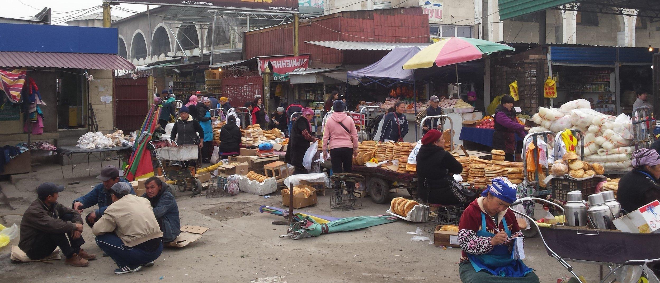 Osh Bazaar (in Bishkek, not Osh)