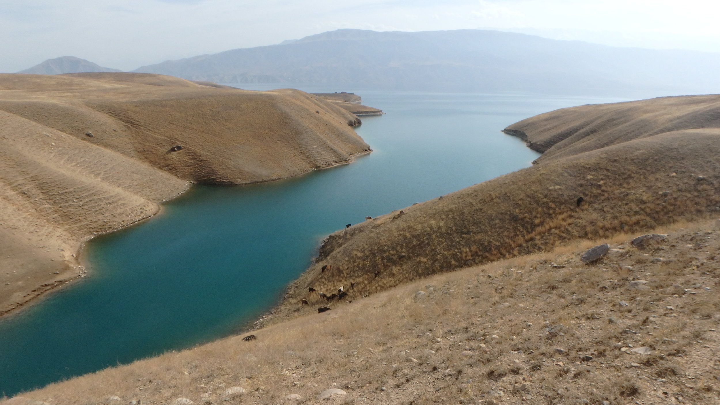 Toktugul Reservoir - real good swimming.