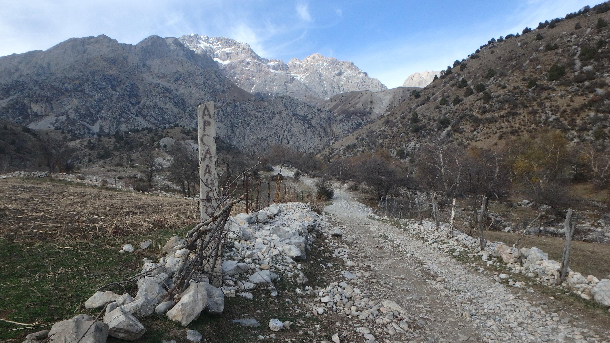 Mountain roads.