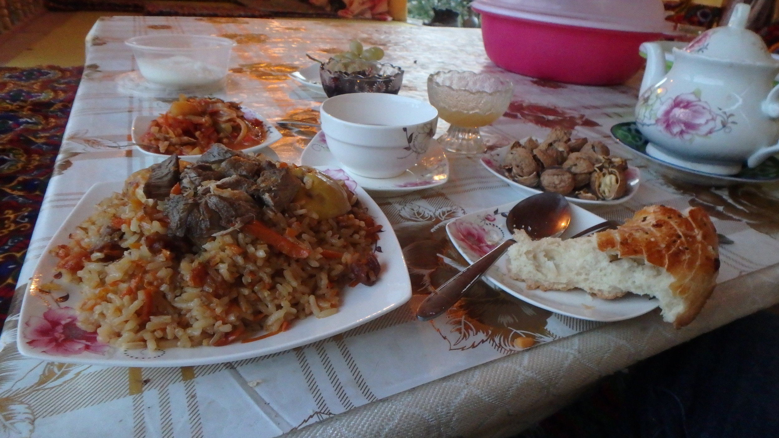 The best plov I have ever eaten.